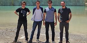 Julien Derbey, Brice Pigaglio, Louis Bocquier et Arslan Bensiam