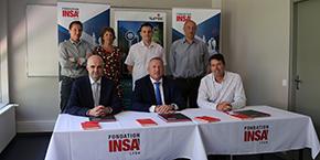 Signature Spie - INSA Lyon - Fondation INSA Lyon