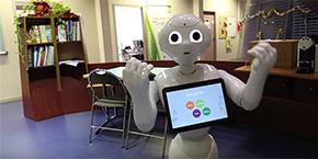 Le robot Peppert
