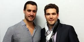 Sylvain Tillon et Tim Saumet