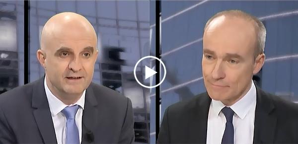 Eric Maurincomme, directeur de l'INSA Lyon et Jean-Pierre Vacher