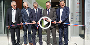 Inauguration Axel'One Campus