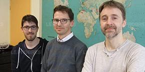 Vincent Dufour, Arnaud Lelevé et François Gabriel Feugier