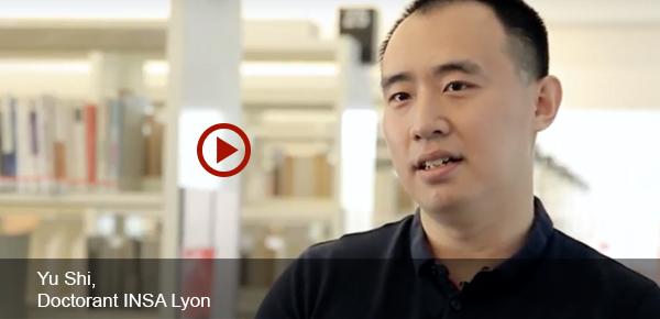 Yu SHI doctorant INSA Lyon
