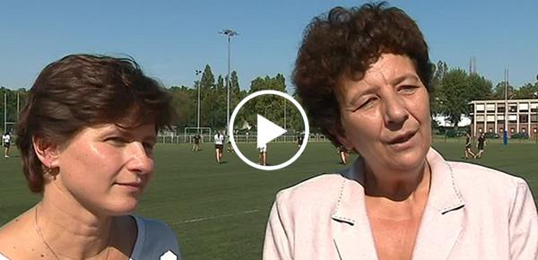 Roxana Maracineanu et Frédérique Vidal
