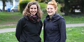 Claire Lurin et Lucie Roux