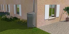 Récupérateur eaux de pluie