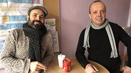 Julien Bernard et François Ganachaud, chercheurs à l'IMP de l'INSA Lyon