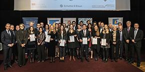 Mathieu Gaillard reçoit le Prix d'Excellence de l'Université Franco-Allemande