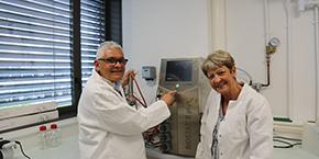William Nasser et Sylvie Reverchon