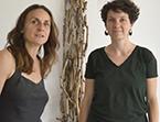Silène Audibert et Elodie Lefebvre