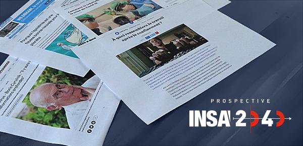 Prospective #INSA2040 : les neuf enjeux clés au regard du présent