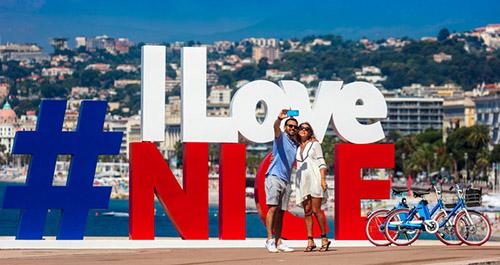 Nice Côte d'Azur à vélo