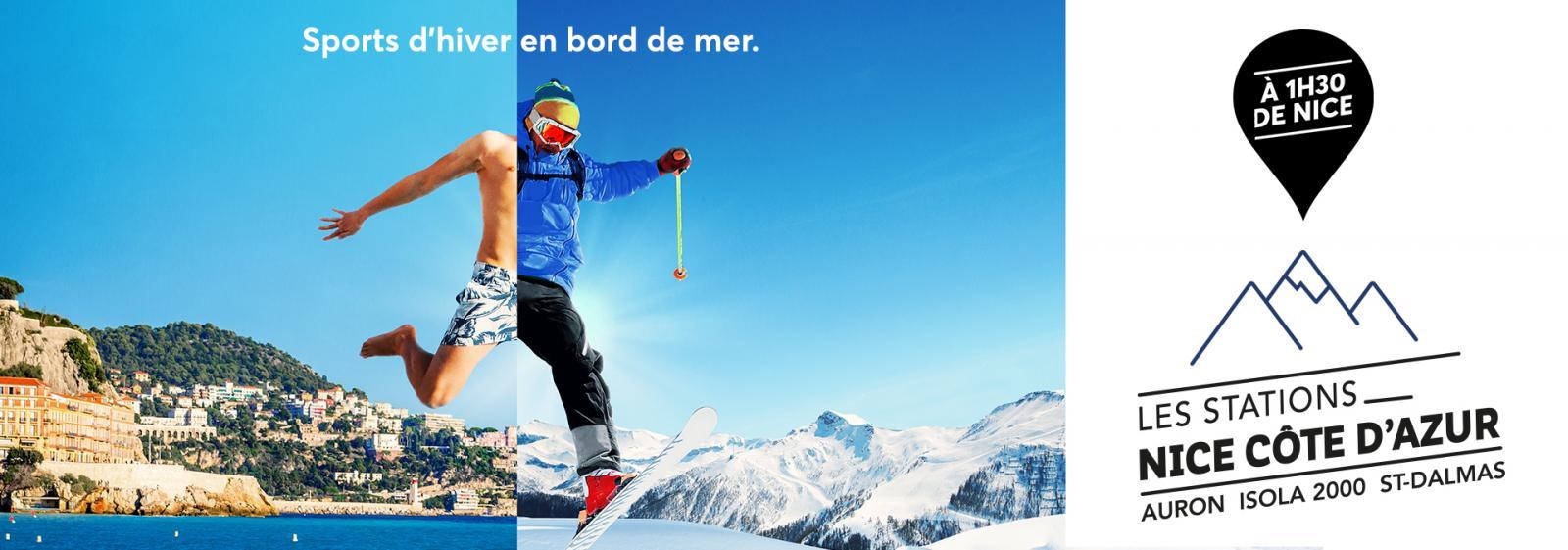 Le Ski aux portes de Nice